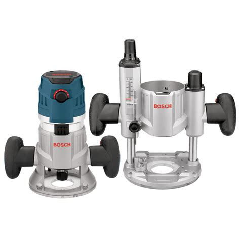 Router Bosch shop bosch 2 3 hp variable speed combo fixed plunge corded router at lowes
