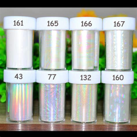 Hologram Transfer Foil 1 1pc holographic nail foils starry sky glitter foils nail transfer foil sticker paper nail