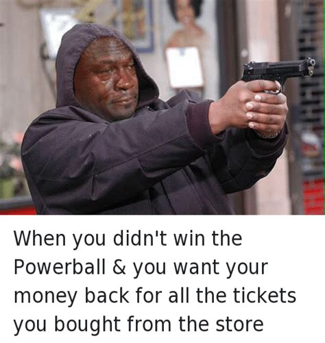Do You Win Money With Just The Powerball Number - search winning the lottery memes on me me