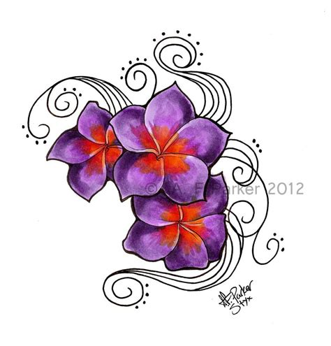 plumeria tattoo designs plumeria dusk heat by styx leagon