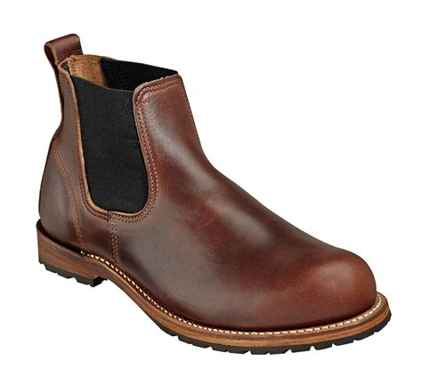 a n a boots wood n mens american classic romeo brown leather