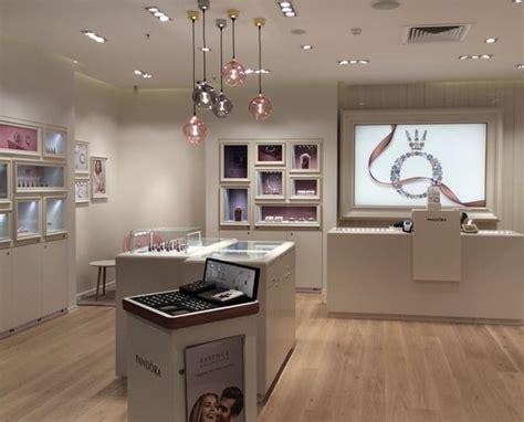 pandora store design features upgraded fixtures