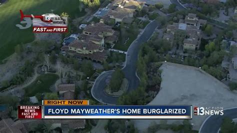 floyd mayweather house las vegas floyd mayweather s house burglarized while he celebrated