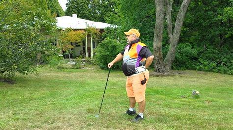 golf swing for fat guys fatman playing golf youtube