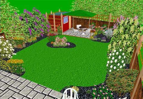 My back garden view 2