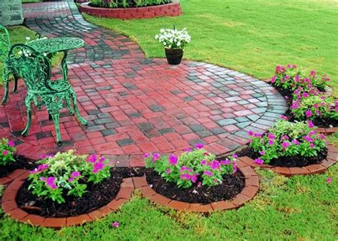 backyard landscaping ideas with pavers 15 spectacular yard landscaping ideas and flower beds with