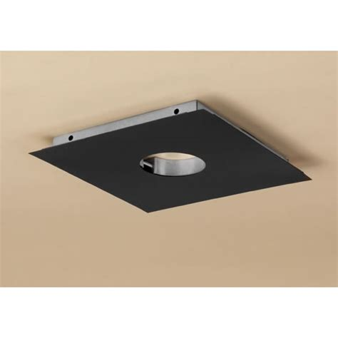 Contemporary Ventless Gas Fireplace by Dura Vent Pelletvent Pro Ceiling Support Firestop Spacer