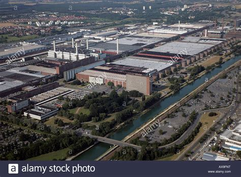 volkswagen germany factory an aerial view of the volkswagen car factory wolfsburg