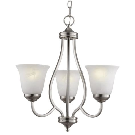 Cfl Chandelier Bulbs Bel Air Lighting Traditional 3 Light Brushed Nickel Cfl Chandelier With Marbleized Shades