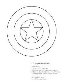 Captain America Shield Cake Template by Diy Captain America Shield Free Printable The S