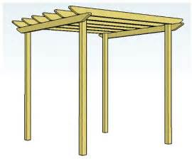 Free Pergola Plans And Designs by Wood Pergola Plans