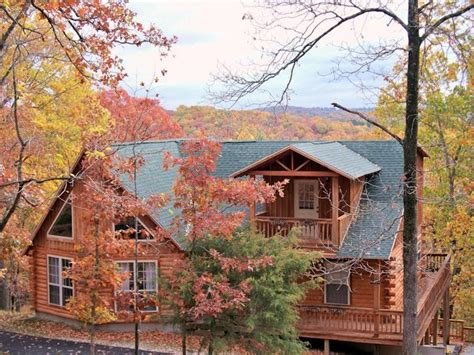 lake forest luxury log cabins eureka springs ar