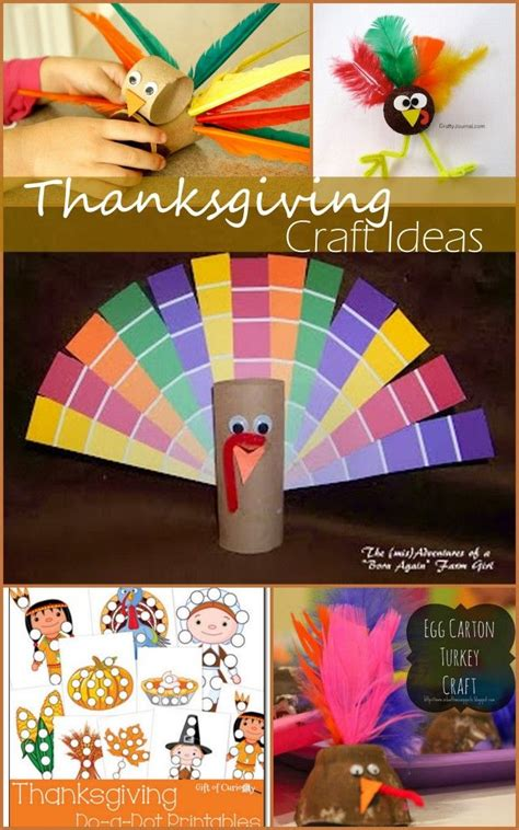amazingly simple thanksgiving craft ideas easy