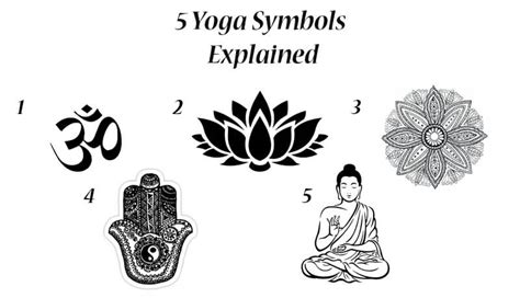 5 yoga symbols explained om lotus flower spiritual