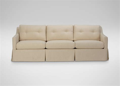 skirted sofa monterey skirted sofa sofas loveseats