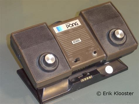 console pong pong consoles from the 70ies
