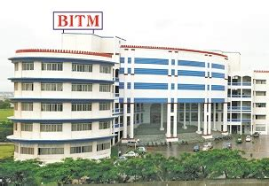 Balaji College Pune Mba Fee Structure by Balaji Institute Of Telecom And Management Bitm Tathawade