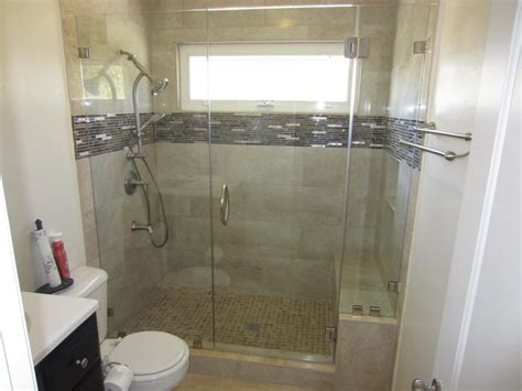 Shower Shield by Glass Shower Enclosure With Enduroshield Patriot Glass