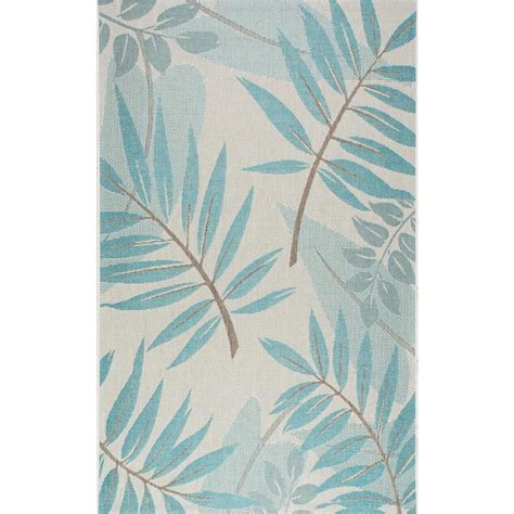 Turquoise Indoor Outdoor Rug Nuloom Trudy Turquoise 8 Ft 6 In X 12 Ft 2 In Indoor Outdoor Area Rug Ocav05b 860122 The