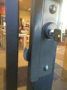 Front Door Guard Image Locksmith Eugene Oregon
