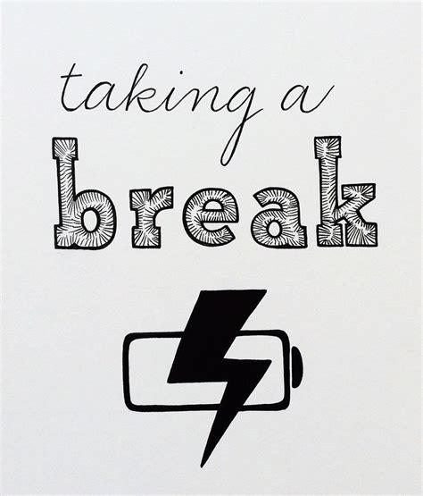 on break sign for desk taking a break office sign cubicle decor office decor on break