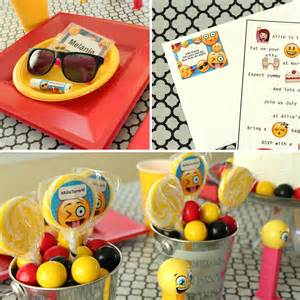 Emoji party ideas party ideas amp activities by wholesale party