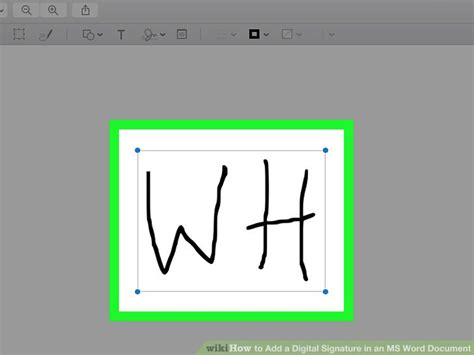 Add Signature To Word Document