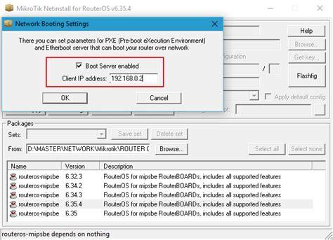 tutorial subnetting indonesia tutorial cara install mikrotik dengan netinstall
