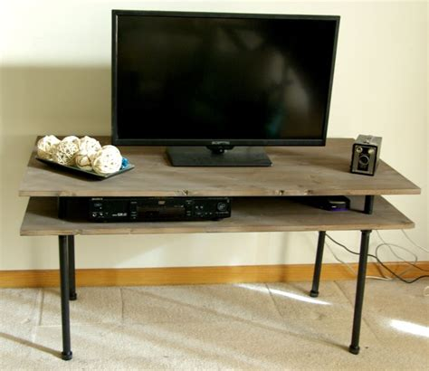 Plumbing Pipe Tv Stand by Modern Media Console Designs Showcasing This Style S Best