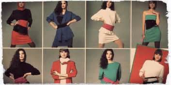 1980s women girls fashion