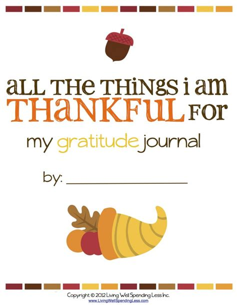 gratitude journal for daily thanksgiving reflection gratitude prompt 102 pages 6 x 9 books all the things i m thankful for free printable gratitude