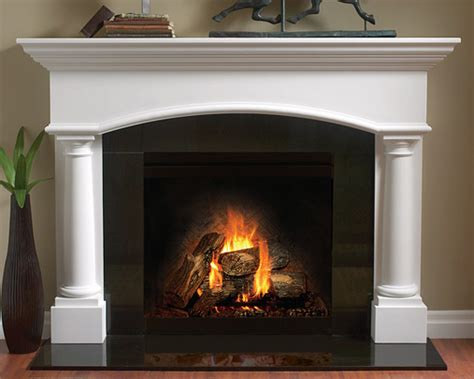 Cement Fireplace Mantels by 4114 Fireplace Mantel In Gypsum Cement