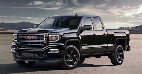 truck gmc 2016 gmc elevation edition revealed