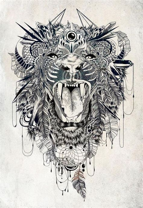 geometric animal tattoo lion 25 best ideas about geometric lion tattoo on pinterest