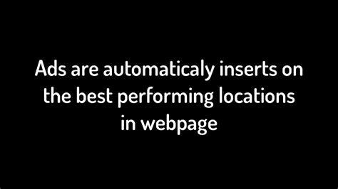 adsense quickstart adsense new feature quot quickstart ads quot to insert ads