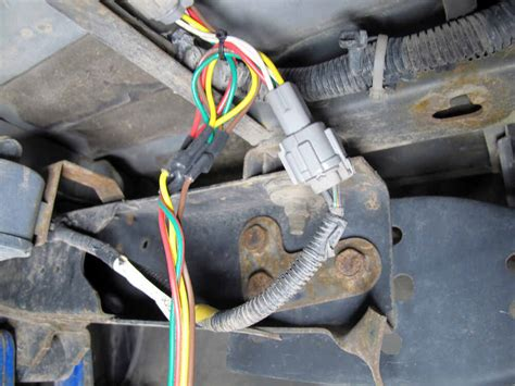 curt  connector vehicle wiring harness   pole flat trailer connector curt custom fit