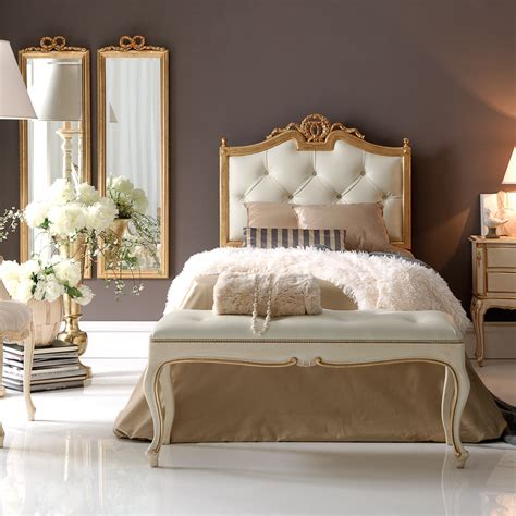 gold upholstered headboard single gold italian luxury button upholstered bed