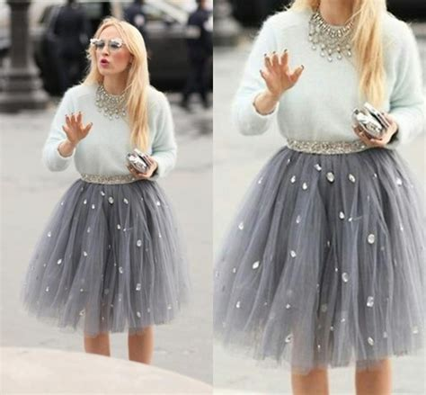 aliexpress sale aliexpress com buy hot sale casual crystal short tulle