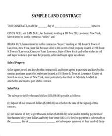Agreement Letter Of Land 7 Land Contract Templates Free Sle Exle Format Free Premium Templates