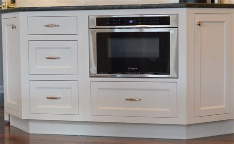 Microwave Drawer Cabinet by High Quality White Cabinetry Design And Remodel Ackley