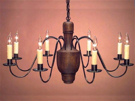 early american chandelier early american reproduction wood chandelier rustic