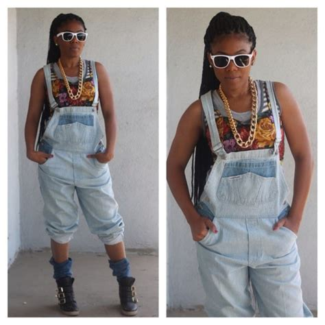 jumpsuit, denim, 90s style, overalls   Wheretoget