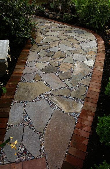 best 25 flagstone path ideas on pinterest how to lay