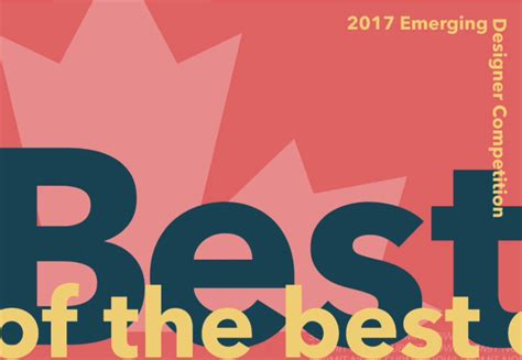 design exchange contest 2017 emerging designers competition image via design