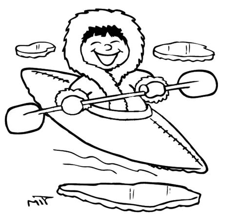 free coloring pages of eskimo food