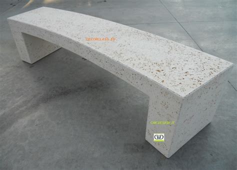 panchina cemento panchine in cemento per arredo esterno urbano e giardino