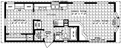 One Bedroom Trailers by Floor Plans Manufactured Homes Modular Homes Mobile