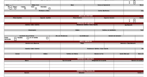 planilla de solicitud credinomina banco bicentenario cr 233 dito personal cliente cuenta n 243 mina persona natural