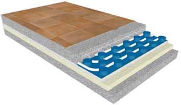 riscaldamento a pavimento costi materiale e posa riscaldamento e raffrescamento a pavimento