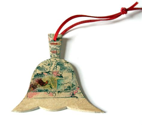 Handmade Bells - handmade bell tree decoration by paperwork
